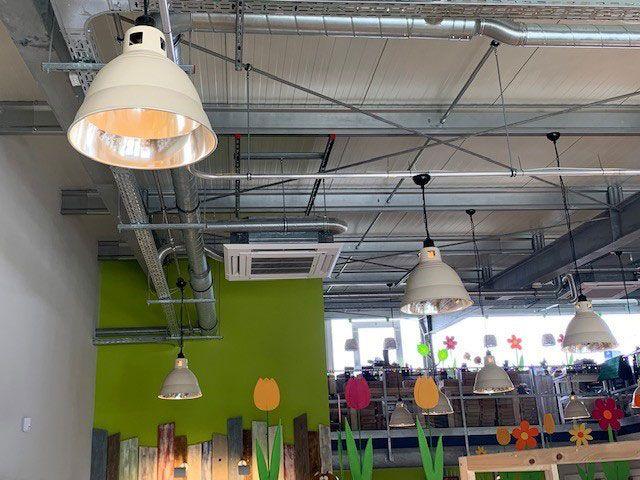 Klimatechnik | Gewerbe und Verkaufsraum