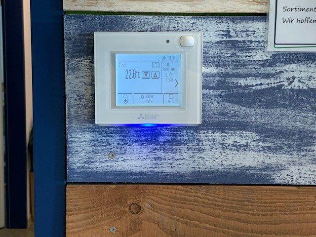 Klimatechnik - Digitaldisplay | Gewerbe und Privat